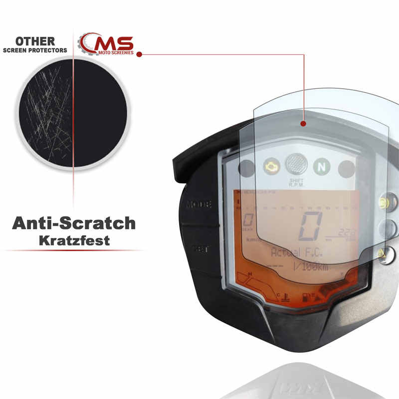 2 pieces Motorcycle Cluster Scratch Cluster Screen Protection Film Protector For KTM DUKE 200 390 RC390 2014 2015 2016