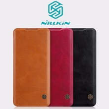 Oneplus 7 Case One plus Pro cover Nillkin QIN leather wallet flip for pro