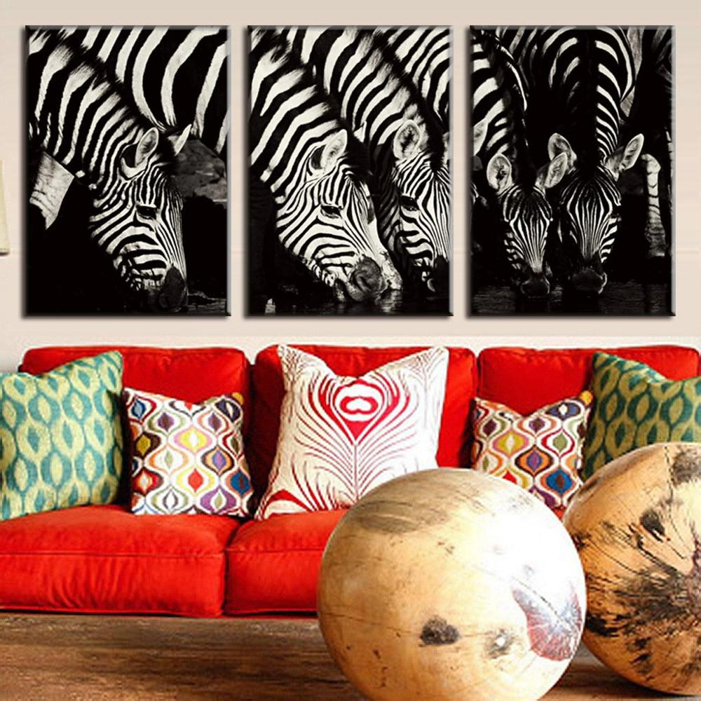 Animal Print Wall Art online get cheap zebra print canvas wall art -aliexpress