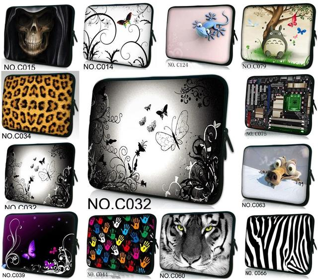 "10"" Colorful Laptop Sleeve Bag Case For 10.1"" Samsung Galaxy Tab GT-P7500 P7510 /10.1"" Samsung Galaxy Tab 2,3,4 w/Cover"