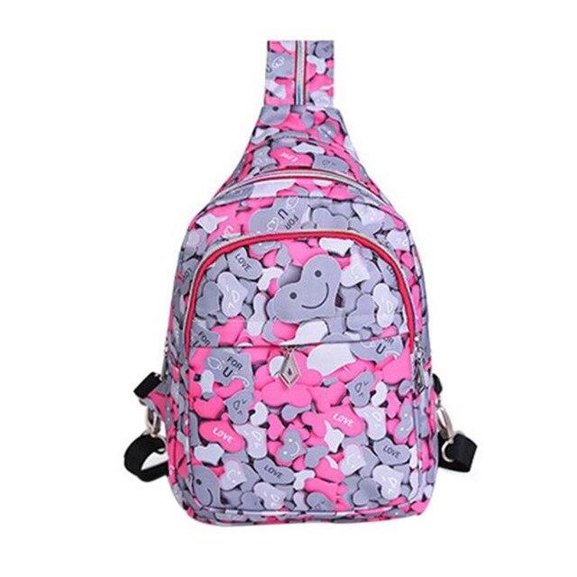 aed98c619d4 2017 Most Popular Girls Boys Printing Bag Travel Backpack Rucksack Women  Single Shoulder Bag Mochila Feminine