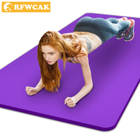 New Arrival Exercise Mat 10 15mm Thick Non Slip Yoga Pilates Mat Lose Weight Exercise Fitness