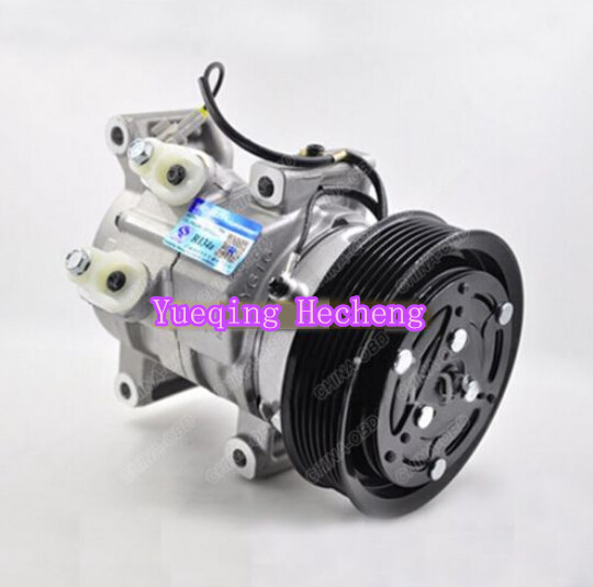 Auto AC Compressor 447180-7201 For RAV4 2KD 1KD For New 10S11C new auto ac condenser for coaster bus