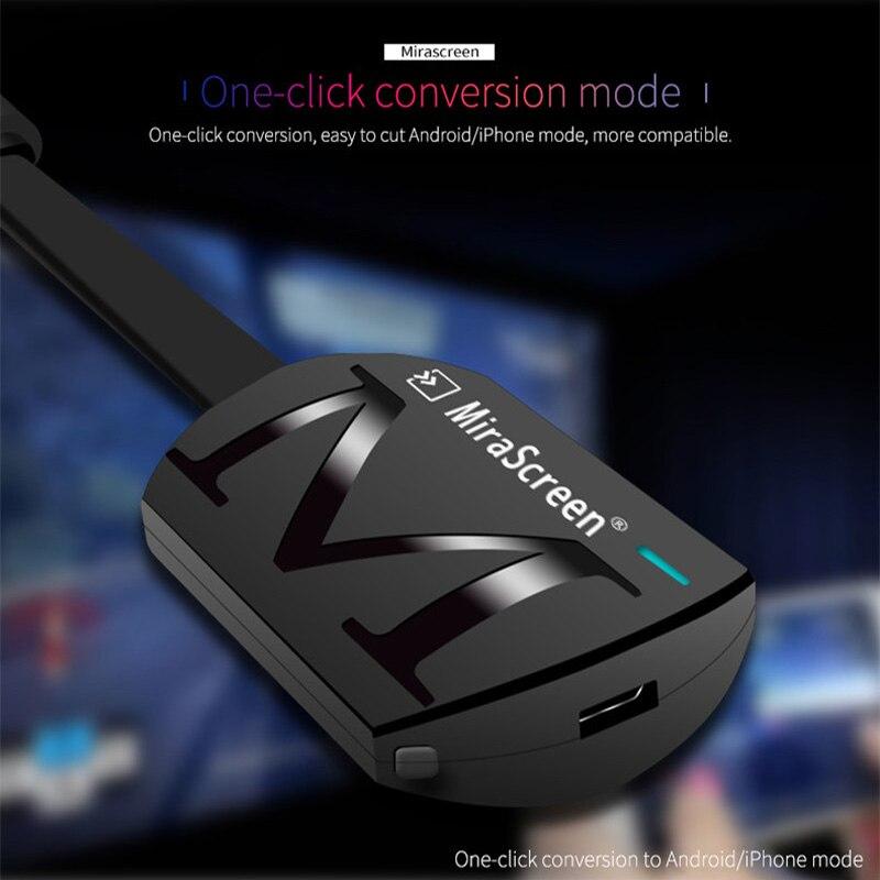 HD 1080P G4 беспроводной WiFi Дисплей ТВ ключ приемник ТВ палка Miracast Airplay для телефона ПК ноутбук