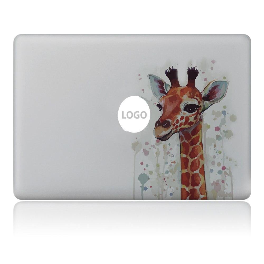 Graffiti cute giraffe Vulture style Vinyl Decal Laptop Sticker For DIY Macbook Pro Air 11 13 15 inch Laptop Skin
