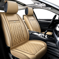 KOKOLOLEE Pu Leather Car Seat Cover Set For KIA Rio Cerato Sorento Forte K2 K3 K5
