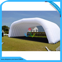 Открытый белый надувной палатка может быть настроены/дешевые надувные газон палатка вечерние свадебное мероприятие палатки выставка Наве