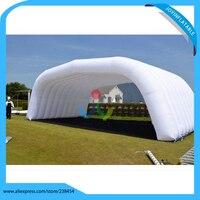 2018 En Plein Air Gonflable Blanc Tente/Tente de Pelouse Gonflable Pas Cher Partie De Mariage Événement Tentes Exposition Canopy