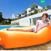 Outdoor inflatable sofa sleeping bag cushion portable air sofa cushion inflatable beach lunch break lazy pocket cushion