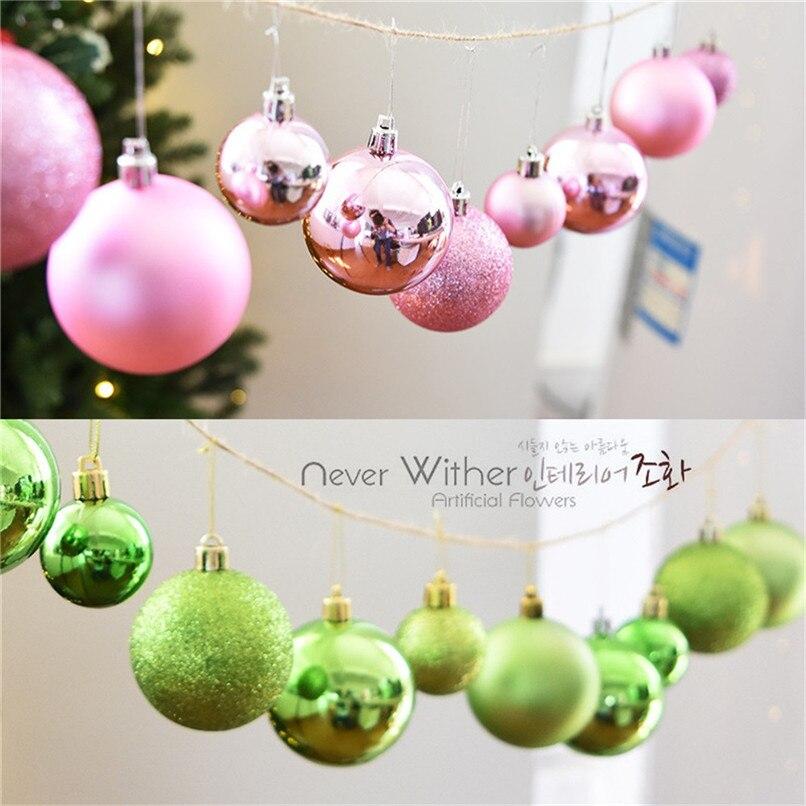 New Arrival 24pcs Shiny And Polshed Glossy Christmas Tree