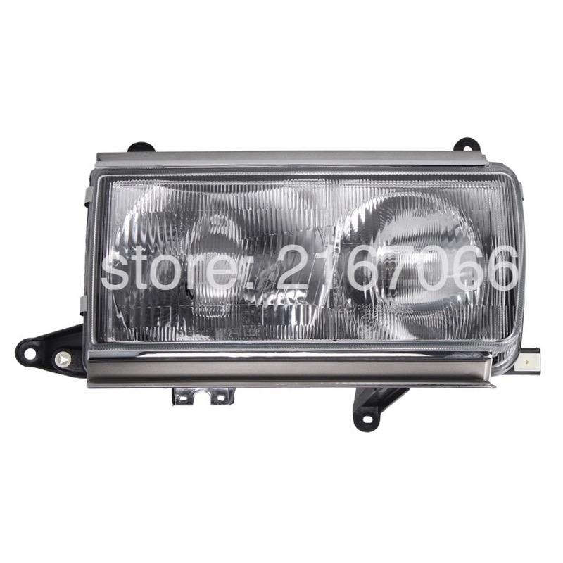 Headlight Right For TOYOTA LAND CRUISER 80 1995 1996 1997 1998 Passenger Side