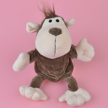 NICI Wild Monkey hand puppet plush toy, Stuffed Baby / Kids Doll Toy Gift Free Shipping