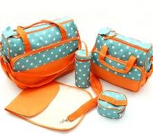 Free shipping new 2016 nappy mummy bag print maternity handbag diaper bags baby tote