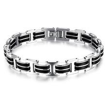 European and American fashion bracelets rock atmosphere style titanium steel motorcycle men's bracelet 3-GS830