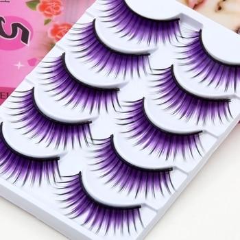 5 paires de faux cils violets fantaisie Faux Cils adhésifs Bella Risse https://bellarissecoiffure.ch/produit/5-paires-de-faux-cils-violets-fantaisie/
