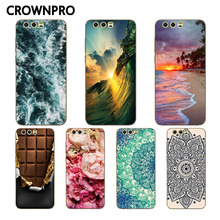 CROWNPRO FOR Huawei Honor 9 Case Soft FOR Huawei Honor9 TPU Sof Silicone Case Back Cover FOR Huawei Honor 9 Phone Fundas Capa