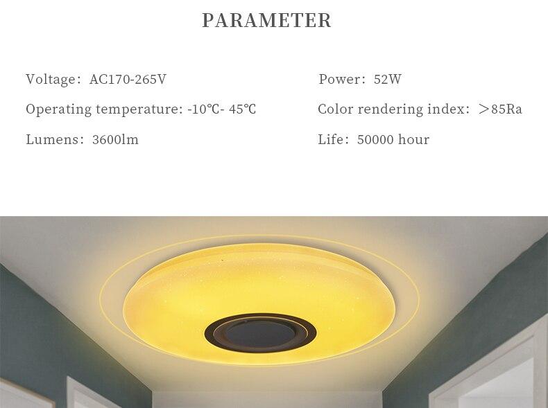 Moderne Lampen 52 : Luminaire plafond salon luxe áu u salon plafond ventilateur