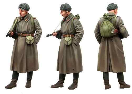 1/35 Resin Figure Red Army Soldier 1pc Model Kits