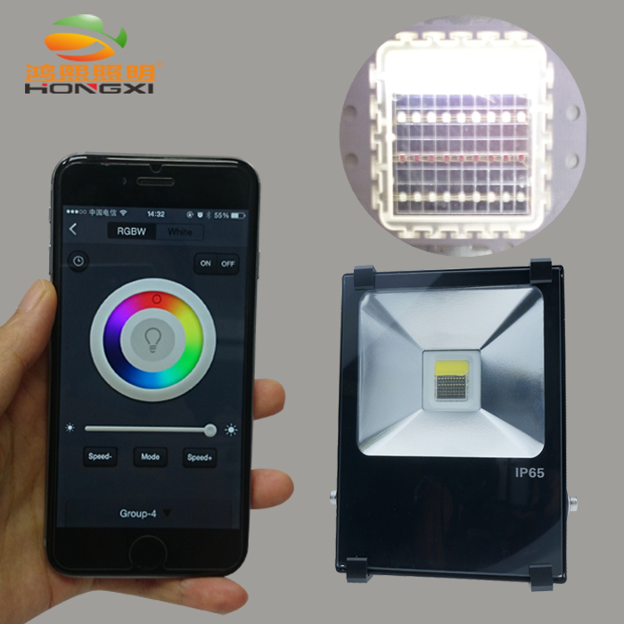 ФОТО IPROLED 40W RGBW led flood light searchlight for stage