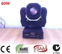 60W LED Spot Moving Head Light USA Luminums 60W LED DJ Spot Light 60W Gobo Moving