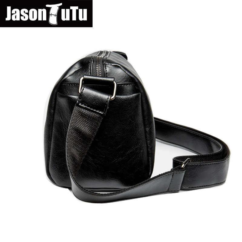 6cb2b1038a2a ... Джейсон пачка акции мужские сумки на плечо, отдыха и путешествий Черный  маленькая сумка через плечо ...