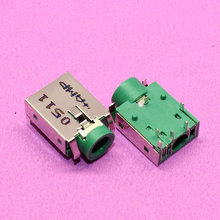 YuXi Brand New For HP / Asus / Acer and other audio interface headphone jack connectors green