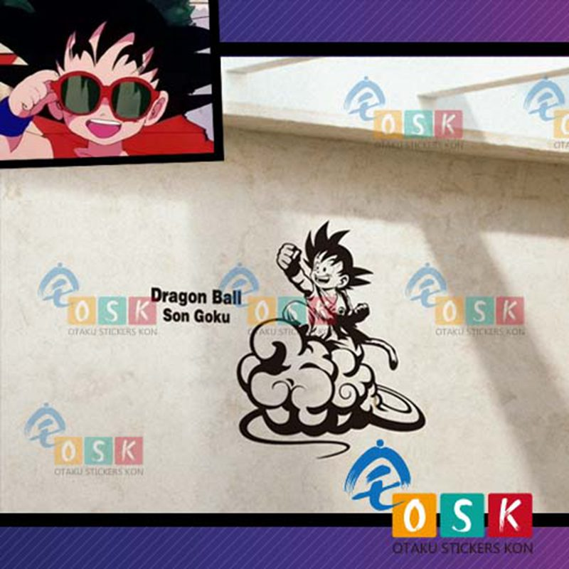 Dragon Ball muursticker Vinyl Decal Decor Home decoratieve decoratie - Huisdecoratie