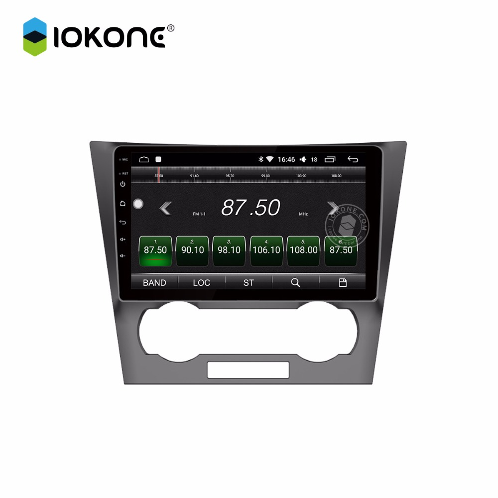 IOKONE Car android 8 0 multimedia player 2din car 8 core stereo DVD radio IPS 2