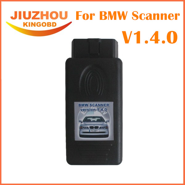 Prix pour 2016 Meilleure Qualité pour BMW Scanner 1.4.0 Ne Fermant Pour BMW Outil De Diagnostic pour BMW 1.4.0 OBD2 Code Reader Livraison gratuite