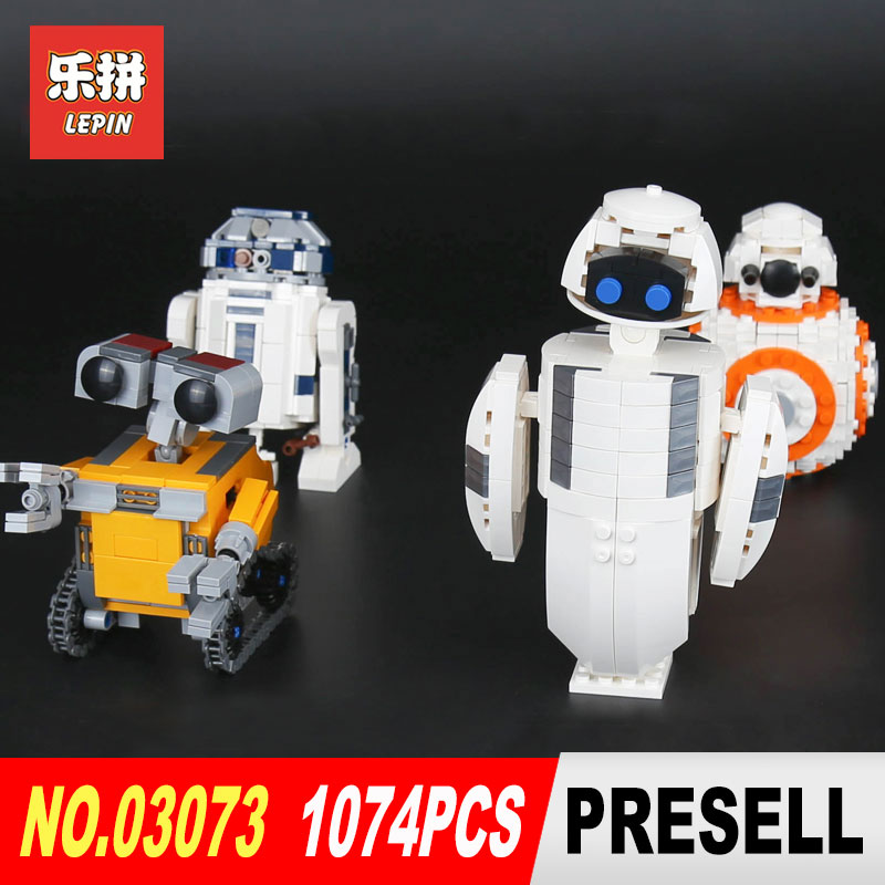 Lepin 03073 1074Pcs Genuine Movie Series The Four Robots In One Set Original Building Blocks Bricks Funny Toys DIY Model Gifts фен elchim 3900 healthy ionic red 03073 07