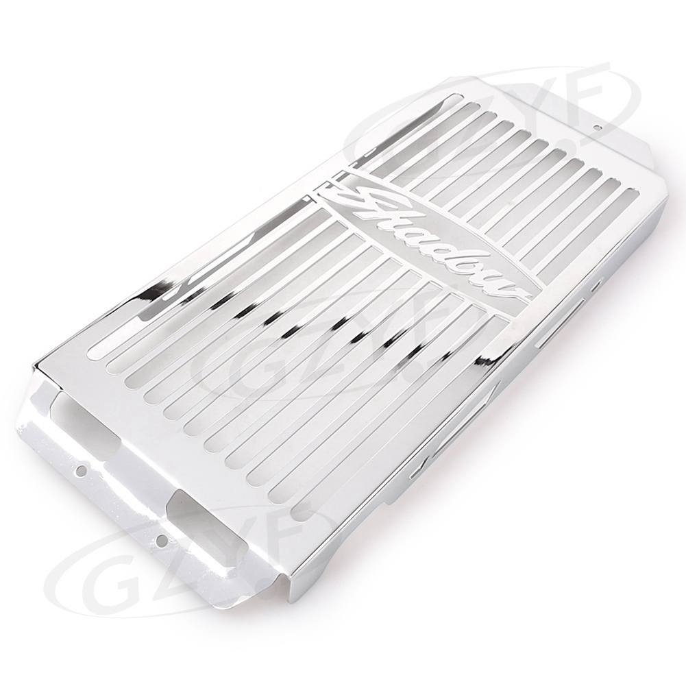 For HONDA Shadow Aero VT750 Radiator Grille Grill Cover Guard Protector 2004 2005 2006 2007 2008 2009 2010 2011 2012 2013