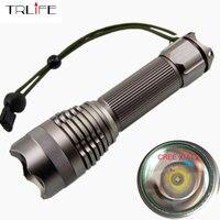 Super Bright CREE XM-L2/T6 Lanterna LED 5 Modos Lanterna Tática LED Torch para 18650/26650 Bateria Recarregável