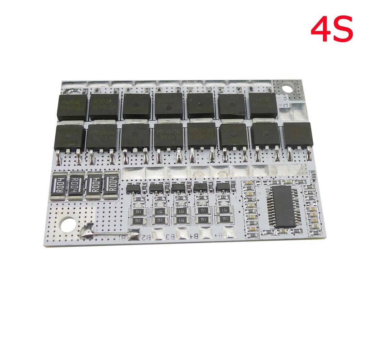 Aihasd 16,8 V 100A 4S BMS Li-Ion LMO Ternary литиевая батарея, защитная печатная плата