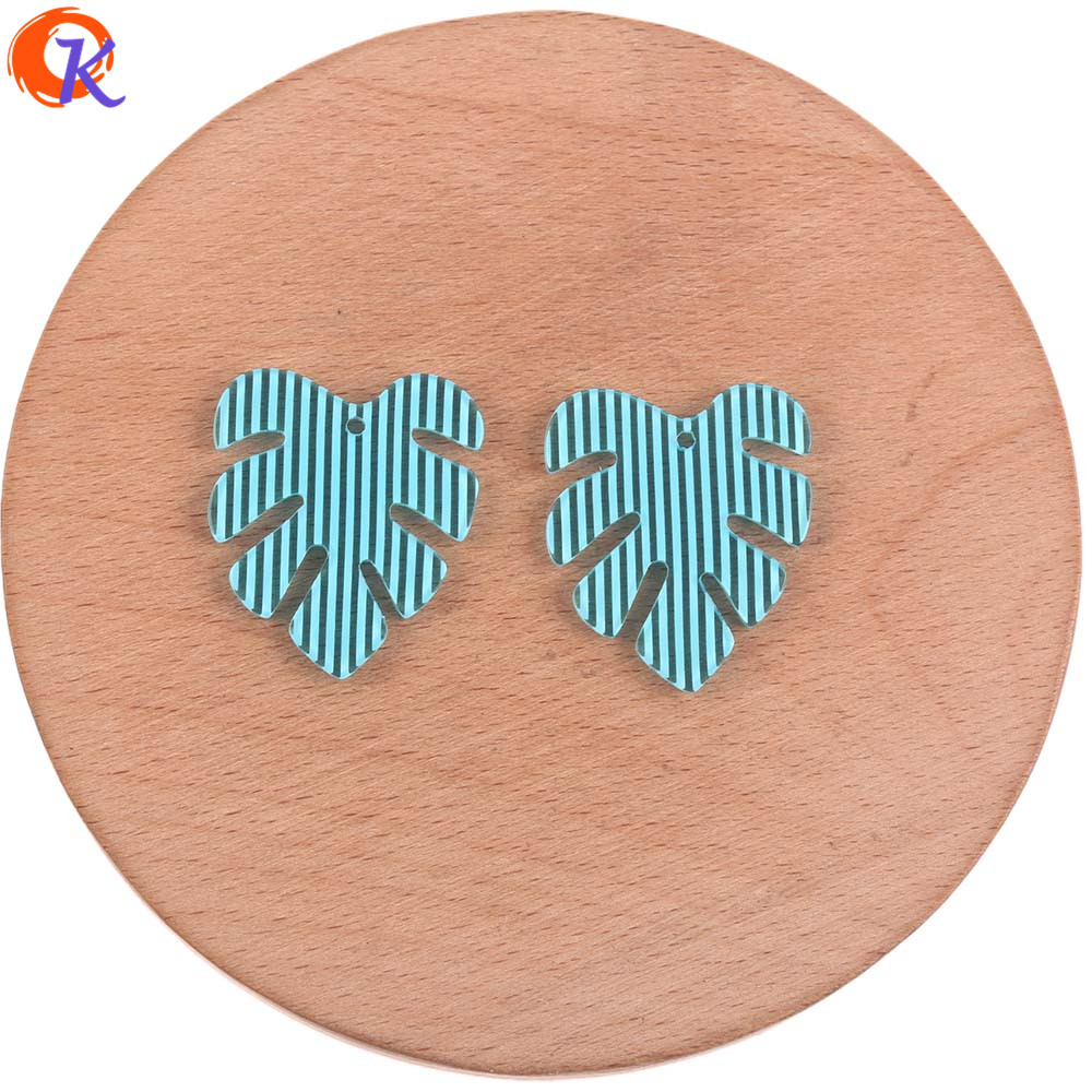 Image 5 - Cordial Design 25*28mm 100Pcs Jewelry Accessories/Earring Connectors/Leaf Shape/DIY Jewelry Making/Hand Made/Earring FindingsJewelry Findings & Components   -