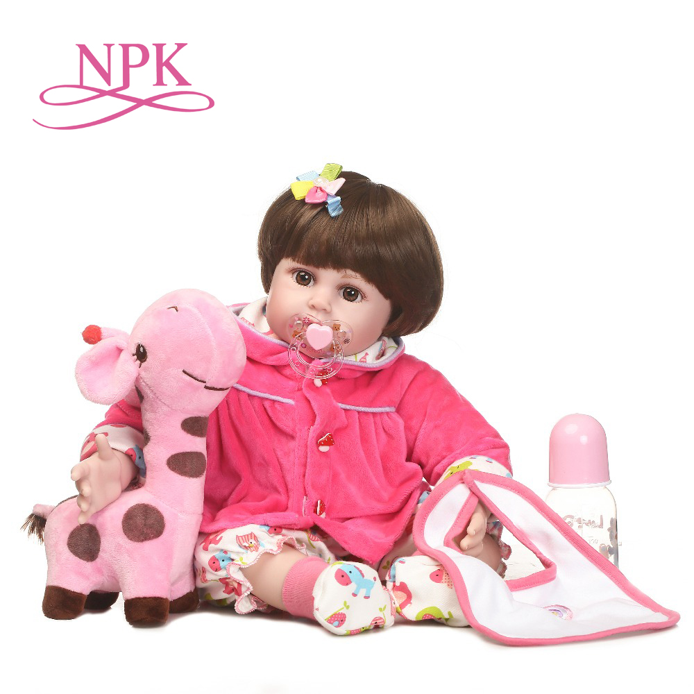 NPK wholesale reborn baby handmade doll with soft real vlnyl silicone touch doll fashion gift for your children on BirthdayNPK wholesale reborn baby handmade doll with soft real vlnyl silicone touch doll fashion gift for your children on Birthday