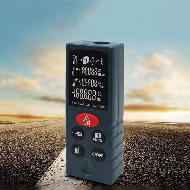 Laser rangefinder infrared measuring instrument handheld rangefinder laser scale instrument equipment ruler test tool