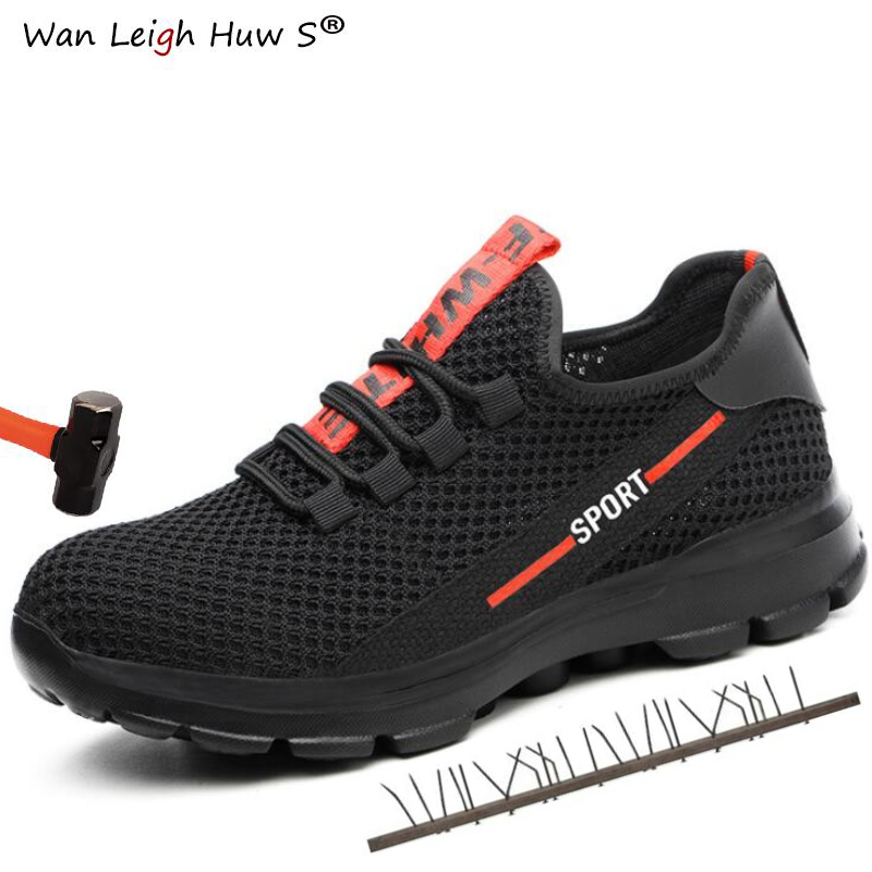 High Quality Comfortable And Breathable Safety Shoes Mens Thin Section Summer Work Sandals Single Mesh Breathable Anti-piercingHigh Quality Comfortable And Breathable Safety Shoes Mens Thin Section Summer Work Sandals Single Mesh Breathable Anti-piercing