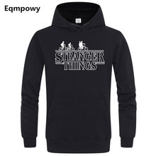 2019 Trendy Faces Strange Things Hooded Mens Pullovers Hoodies and Sweatshirts Oversized for Autumn with Hip Hop Winter Hoodie