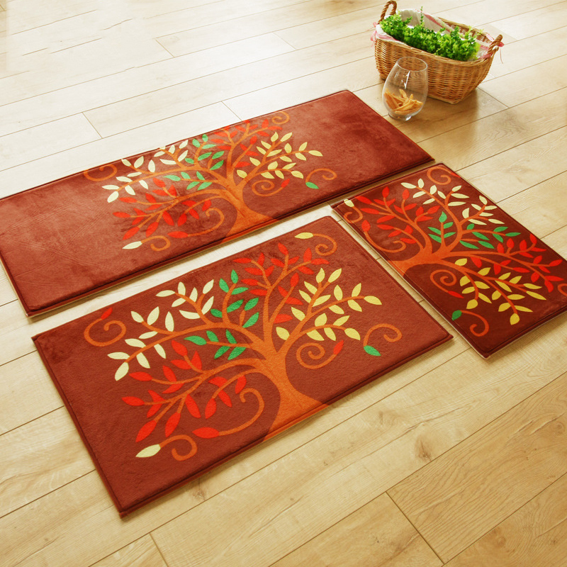 Bibulous Antiskid Memory Foam Modern Carpet For Living Room & Kitchen