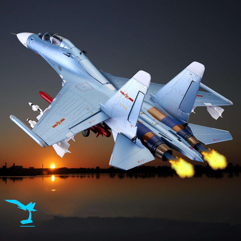 1:48 SU30 Aircraft Model Alloy Fighter Simulation Military Model Ornaments Fighter Model Gift for Collection Free Shiping 1 400 jinair 777 200er hogan korea kim aircraft model