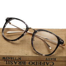 6fb408c1cab 2016 retro ultra light glasses metal legs Korean version of the literary  frame mirror trend flat mirror glasses XCO1-XCO15