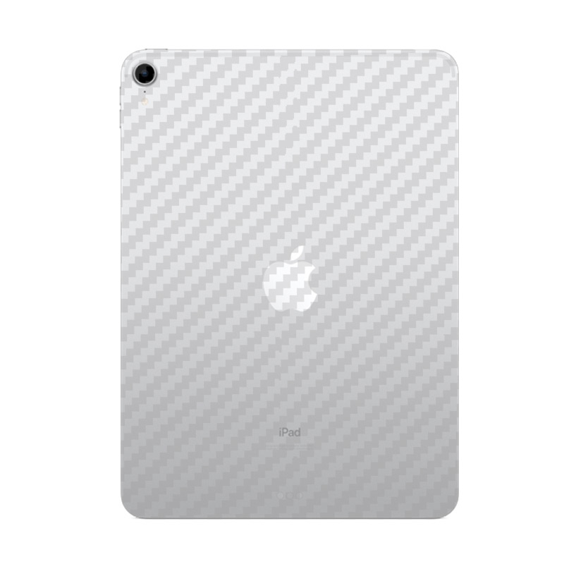 Protective Film Clear 3D Carbon Fiber Soft Screen Protector Sticker For Apple IPad Pro 11 2018 Back Film ( Not Tempered Glass