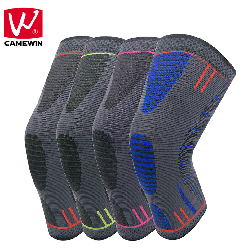 CAMEWIN Knee Pads Knee Compression Sleeve Support for Running, Jogging, Sports, Joint Pain Relief, Arthritis and Injury Recovery 1pair health care knee brace support therapy compression sleeves for arthritis meniscus tear acl pain relief injury recovery