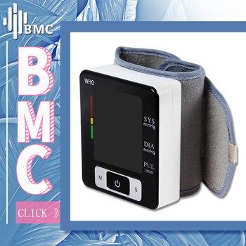 BMC запястье цифровой Приборы для измерения артериального давления мониторы Автоматический Сфигмоманометр Smart спецодежда медицинская
