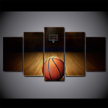 Basketball canvas