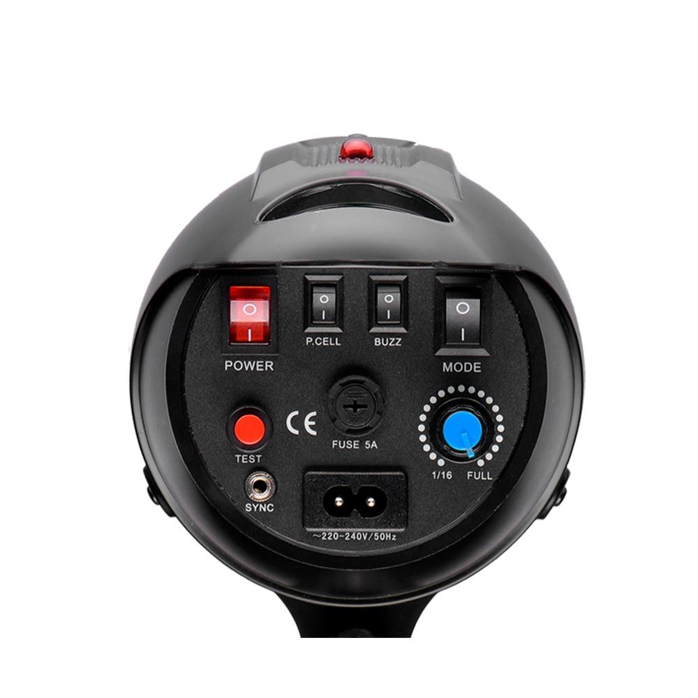 Photographie professionnelle AC220-240V chargeur réflecteur Standard lumière de tête stroboscopique Flash de Studio - 6