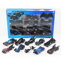 10pcs/box hotwheels lot mini scale slide model cars classic toy Batman Motorcycle car metal hot track kids toys Collection gift