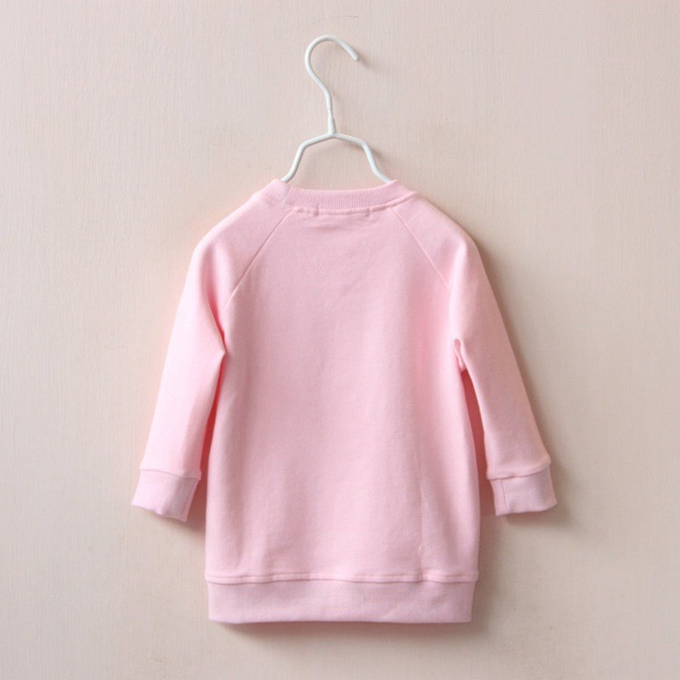 Hot Baby Casual Clothing Girls Purple Bottle Printing Irregular Long Sleeve Tshirt Kids Cotton T shirt Spring Autumn Blouse Tops