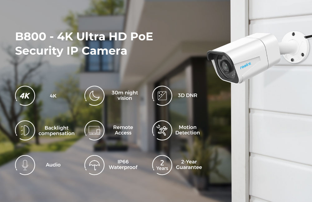 Reolink 4K IP Nightvision PoE 8MP Outdoor Security Camera 7