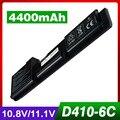 Bateria 4400 maah laptopfor d410 dell latitude d410 y5179 y5180 y6142 451-10234 312-0315 312-0314 novo preço especial!!